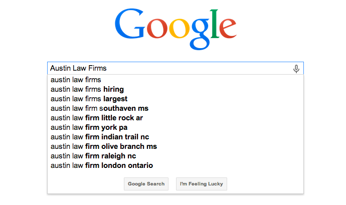 Law Firm Local SEO - Sites For Law Firms