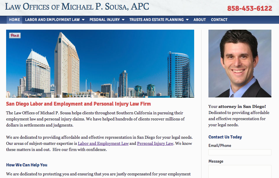 Professionally Designed Law Firm Websites